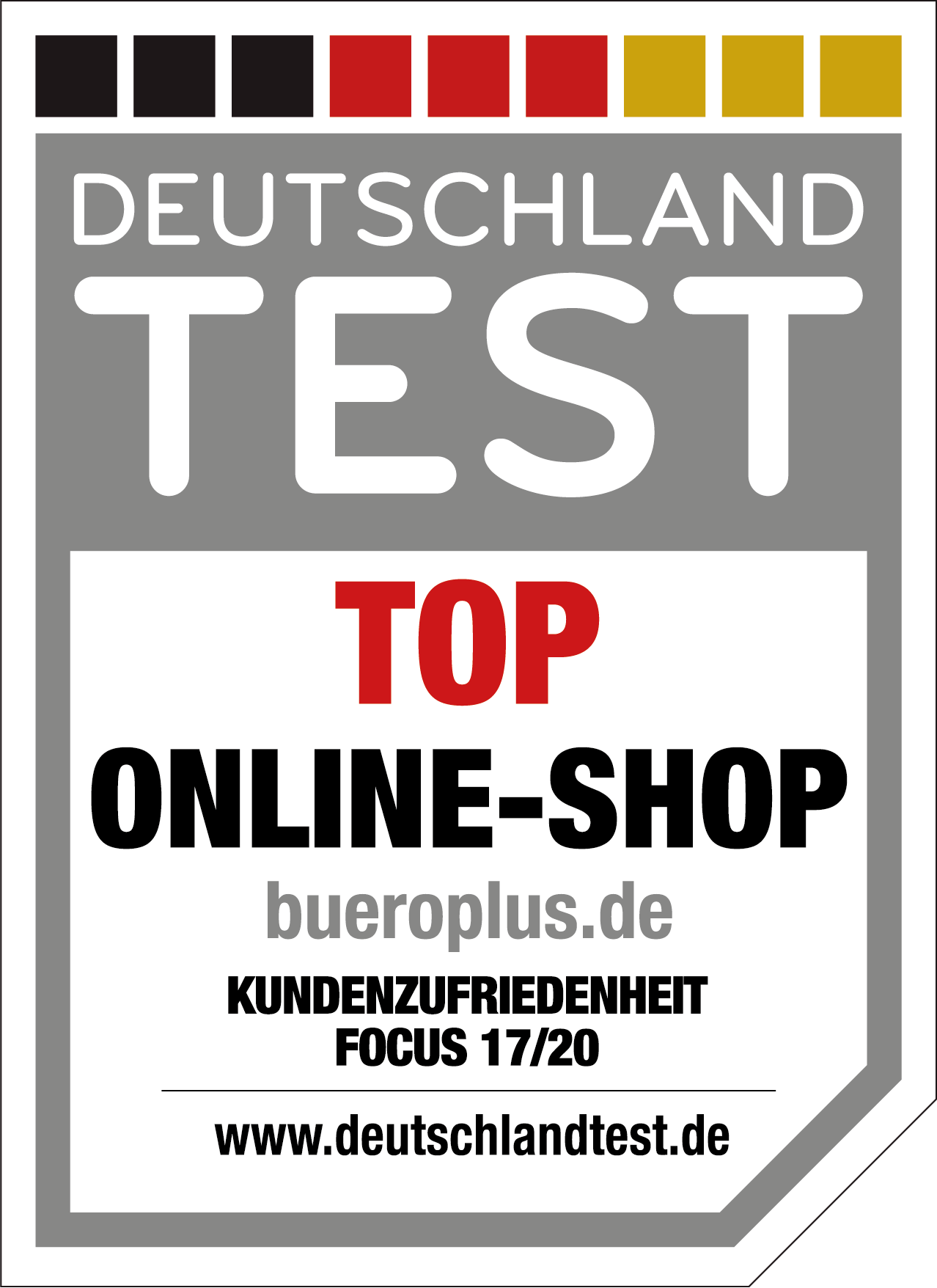 Deutschlandtest Top Online-Shop 2020