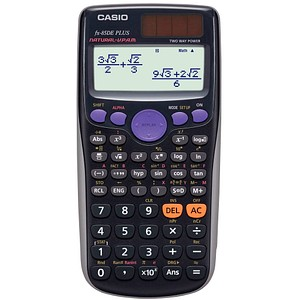 Schulrechner FX-85DE Plus von CASIO