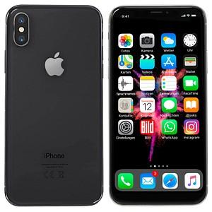 Apple iPhone X spacegrau 64 GB