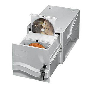 hama CD-File Box 160 CD-/DVD-Box lichtgrau