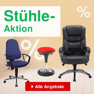 Stühle-Aktion